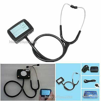 CONTEC LCD Display  Electronic Visual Stethoscope for SpO2,ECG Multi-Function