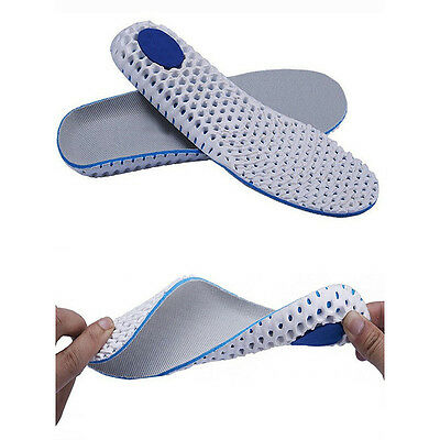 Pair Breathable Sports Shoes Insoles Insert Shoe Pad Support Cushion Inner Soles