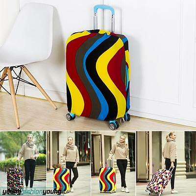 Travel Luggage Suitcase Cover Protector Elastic Scratch Dustproof Bags Case AU