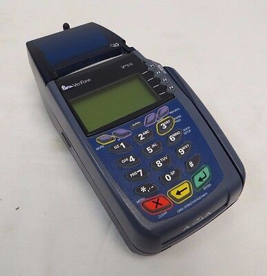 VERIFONE VX610 CREDIT CARD TERMINAL WITH CHIP READER WIRELESS Rechargeable