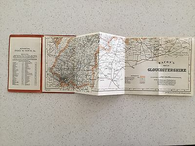 Map - Bacon's County Map Of Gloucster An Adjoining Counties