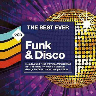 THE BEST EVER FUNK & DISCO Various Artists NEW & SEALED 2x CD (Rhino) CLASSIC