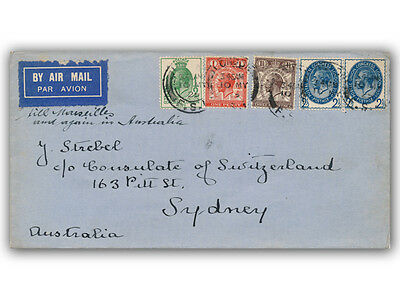 1929 Postal Union Congress FDC Low Values London CDS