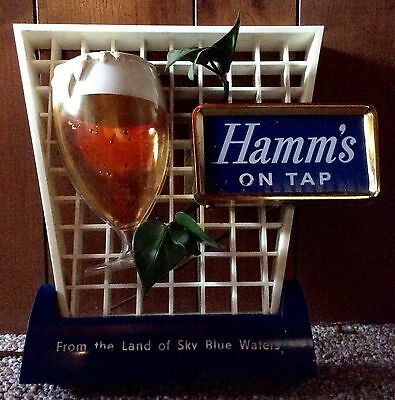Hamm's On Tap Lighted Beer Sign