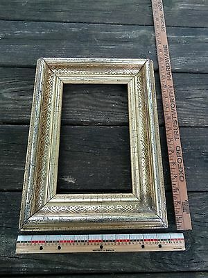 Antique Gold Gilded Picture Frame ~ Circa 1860's
