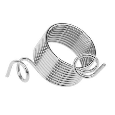10c Metal Wire Yarn Stranding Guide Knitting Thimble for Knitting Craft