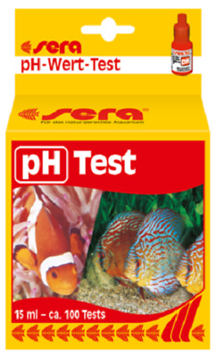 SERA pH Test 15 ml PH-Test Wassertester Koi Teichtester Teichwasser