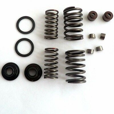 VALVES ASSEMBLY SET COMPLETE 150cc GY6 4 STROKE CHINESE SCOOTER 157QMJ