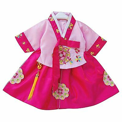 CRB Fashion Little Girls Toddler Korean Top Quality Cultural Traditional Hanbok