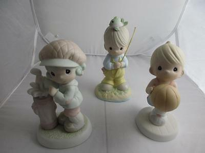 Lot of 3 Precious Moments 521221 521973 and 526193