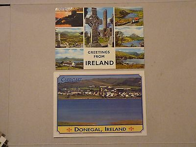 Postcards from Ireland - set of 6 unused cards
