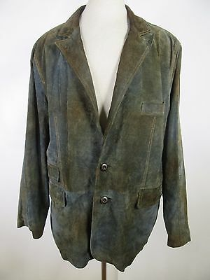 Men's Wilsons Leather M. Julian Leather Blazer Jacket Size XL A5120