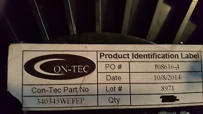 "Con-Tec 340345WEFEP SL Flexible Armor Conduit Teflon Coated Stainless 1/4"" /73ft"