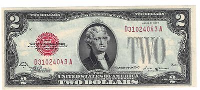 1928-E $2 Red Seal United States Note F1506 GEM UNC