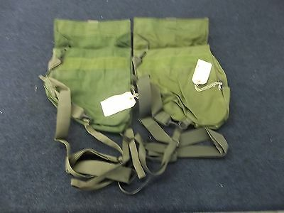 2 Military Chemical Gas Mask M42 M45 Sling Shoulder Carrier Bag Pouch Case New