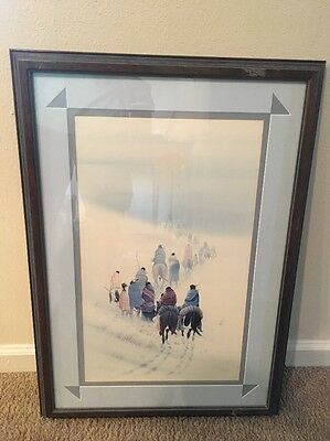 """Donald Vann Lithograph """"Leaving the Smokies"""" Limited Edition-Pencil Signed"""