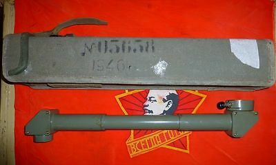 Russian USSR monocular Periscope Artillery Aiming Circle optic with Box 1946