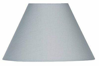 Soft Grey Cotton Coolie Shade