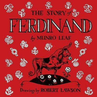The Story of Ferdinand (pb, 8x8) by Munro Leaf, The lovable bull NEW