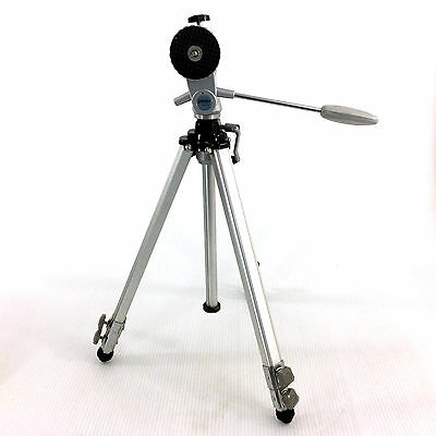 Aluminum Camera Tripod Metal Stand Heavy Duty Vintage Professional Photography
