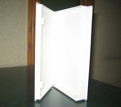 100Pcs White Vhs Library Case, Full Sleeve, No Hub - Psv12
