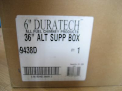 "Simpson Dura-Vent 6"" Duratech All Fuel Chimney Product 36"" ALT Support Box 9438D"