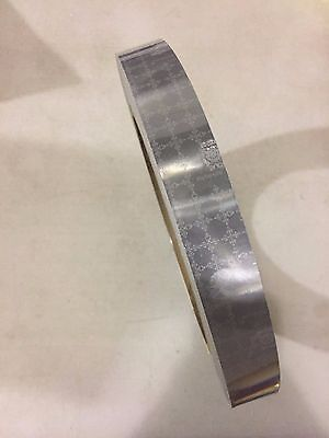 """12' Reflective SOLAS Safety Life At Sea High Visibility Marine Tape 1"""" Wide NEW"""