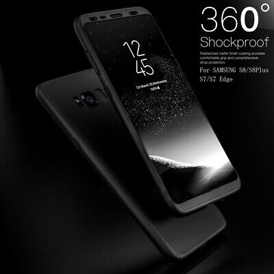 360° Full Protective PC Case Cover+Screen Protector for Samsung Galaxy S7/S8