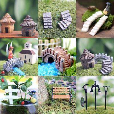 Lots Garden DIY Craft Pots Fairy Ornament Miniature Figurine Dollhouse Decor