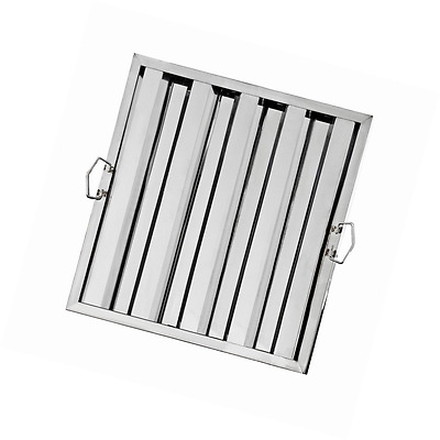 """New Star Foodservice 54378 Stainless Steel Hood Filter, 20"""" x 20"""""""