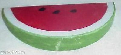 Alabaster Stone Marble Watermelon Slice Fruit Italy Hand Made & Painted