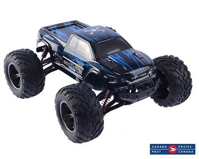 S911 2.4G 4CH 1/12 High Speed Remote Control Off Road RC Car Monster Truck Blue
