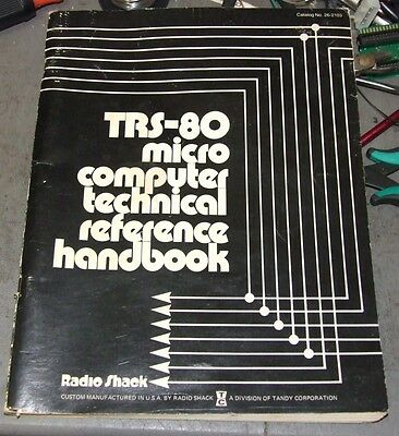 TRS-80 Microcomputer Technical Reference Handbook by Tandy Radio Shack