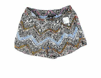 Harlowe & Graham NEW Blue Womens Size Small S Printed Casual Shorts $58- 655