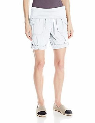 Calvin Klein NEW White Womens Size Medium M Pull On Stretch Shorts $49 401