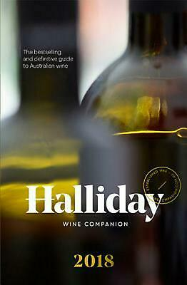 Halliday Wine Companion 2018 by James Halliday Paperback Book Free Shipping!