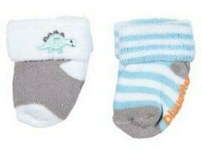 Playette Bootie Socks, 2 Pack (Blue) Free Shipping!