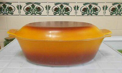 Vintage Pyrex, Milk Glass - Crown Large Casserole - Great Condition