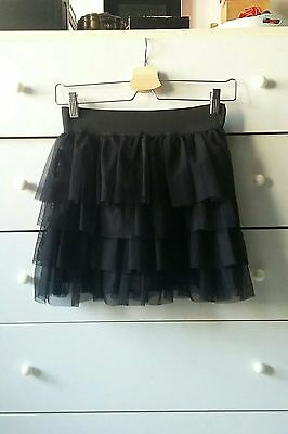 Gonna a balze in tulle Bershka tg.xs-s-m
