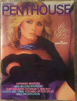 Australian Edition Penthouse Magazine - March 1983 - 162 Pages - FREE Postage