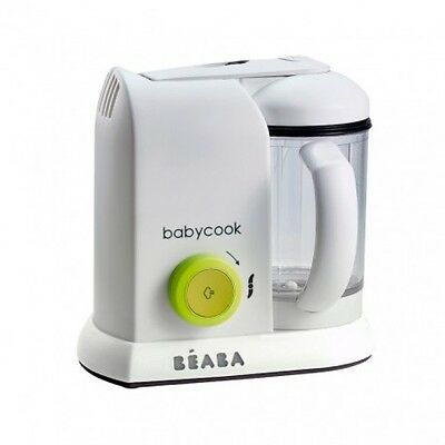 Beaba BabyCook Solo Blender Food Processor - 1100ml - Neon - UK PLUG - NEW
