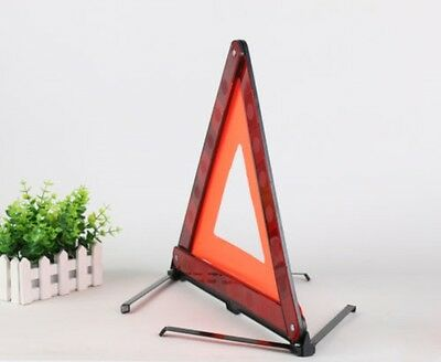 Large Warning Car Triangle Reflective Safety Hazard Road Emergency Breakdown