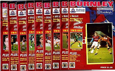 1993-1994  Burnley v Brighton