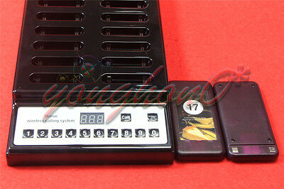 20 Restaurant Coaster Pager Guest Wireless Paging Queuing Calling System