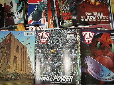 2000 AD Magazines 49 copies (Complete 2006) (including 100 page christmas issue)