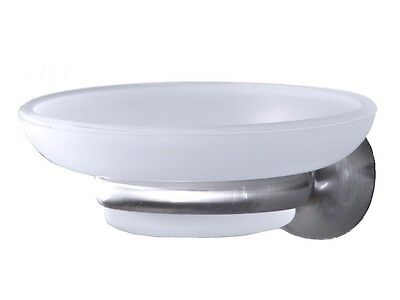 Spirella Campagne Satin Soap Dish with Retainer Mat Brushed branded product
