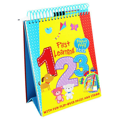 Tiny Tots First Learning 1 2 3 (Spiral Bound), Children's Books, Brand New