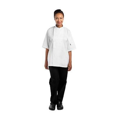 Le Chef Unisex Light Weight Chefs Jacket Double Breasted Polycotton Top
