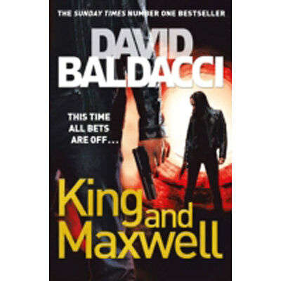 King And Maxwell by David Baldacci (Paperback), Books, Brand New