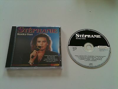 Stephanie - RENDEZ-VOUS - CD Album © 1993 incl. 3 REMIX Versions: One Love To Gi
